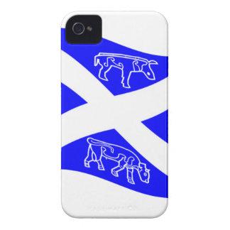 Waving Pictish Scotland Flag iPhone 4 Case-Mate Cases