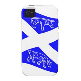 Waving Pictish Scotland Flag iPhone 4/4S Cases