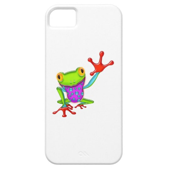 Waving Poison Dart Frog iPhone SE/5/5s Case