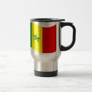Waving Senegal Flag Mugs