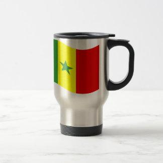 Waving Senegal Flag Mug