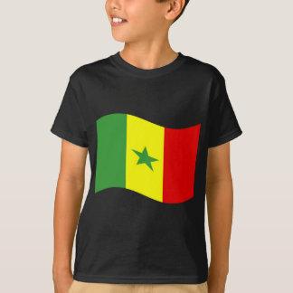 Waving Senegal Flag T-Shirt