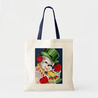 Waving Snowman Bag