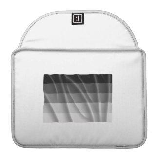 Waving straight pride flag MacBook pro sleeve