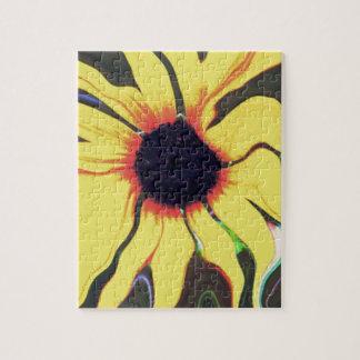 Waving Sunflower Jigsaw Puzzles