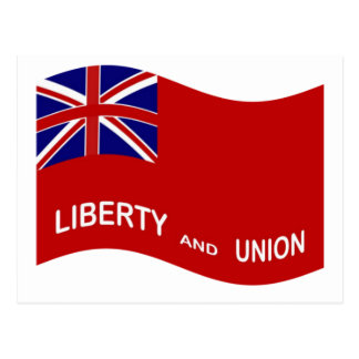 Waving Taunton Flag Postcard