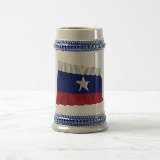 Waving Texas Pilot Flag Coffee Mug