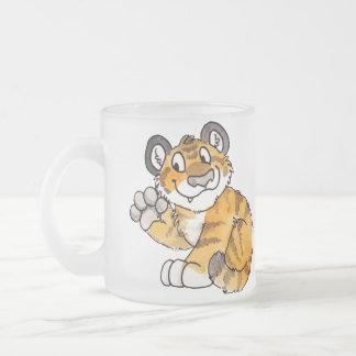 Waving Tiger Cub Mug