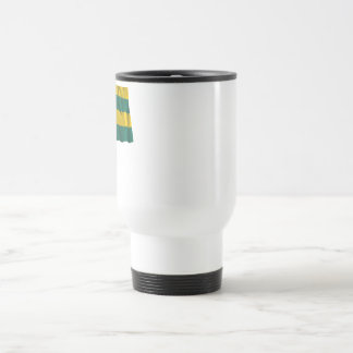 Waving Togo Flag with name in Russian Travel Mug