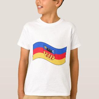 Waving Transylvania Flag T-Shirt
