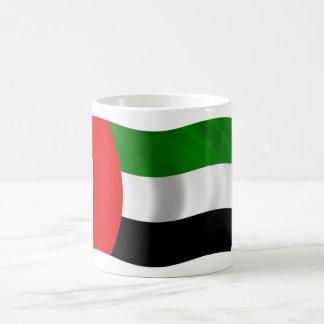 Waving UAE Flag Coffee Mug