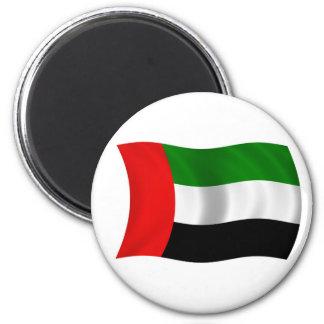 Waving UAE Flag Fridge Magnets
