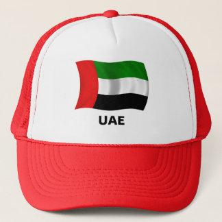 Waving UAE Flag Trucker Hat