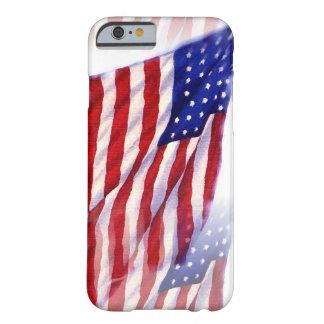 Waving US Flag iPhone 6 Case
