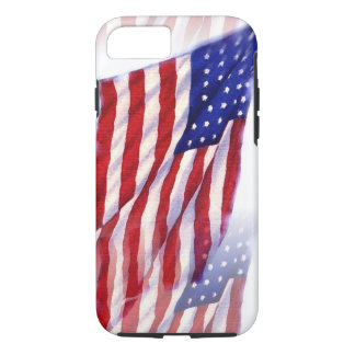 Waving US Flag iPhone 7 Case