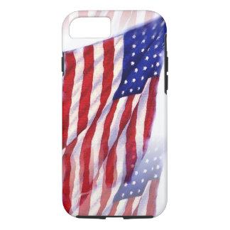 Waving US Flag iPhone 8/7 Case