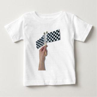 WavingCheckeredFlag073110 Baby T-Shirt