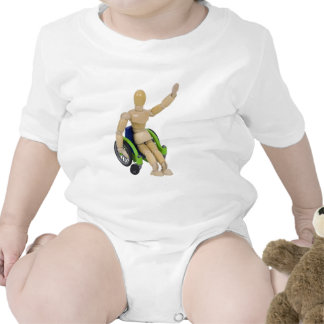 WavingInWheelchair013110 T-shirt