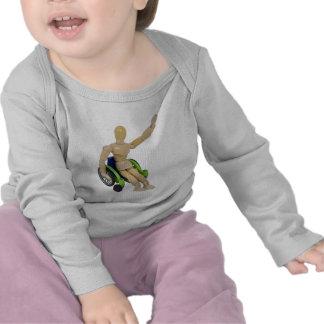 WavingInWheelchair013110 T Shirt