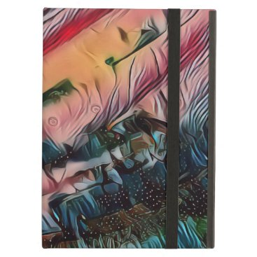 Wavy Abstract Case For iPad Air