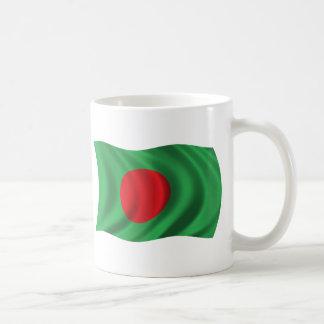Wavy Bangladesh Flag Mugs