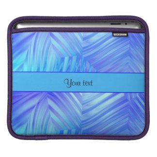 Wavy Blue Glass iPad Sleeve