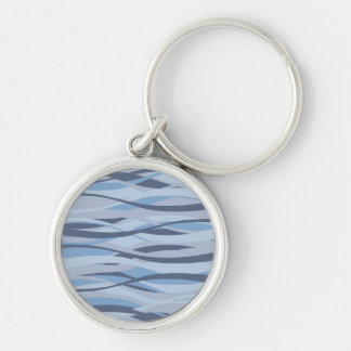Wavy Blues custom key chain