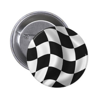 Wavy chequered flag buttons
