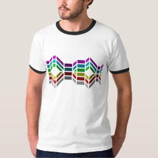 Wavy Color Spectrum T-Shirt