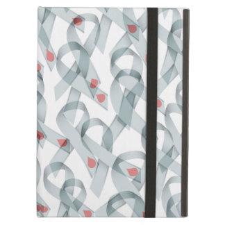 WAVY DIABETES RIBBONS COVER FOR iPad AIR