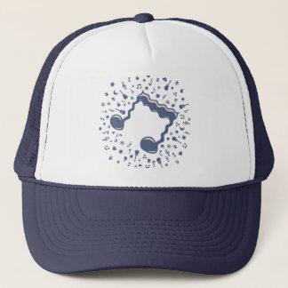 Wavy Eighth Trucker Hat