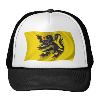 Wavy Flanders Flag Trucker Hat