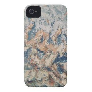 Wavy Grunge Texture iPhone 4 Case