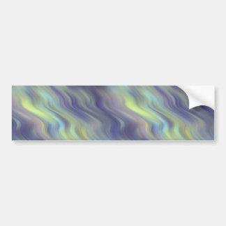 Wavy Lavender Texture Bumper Sticker
