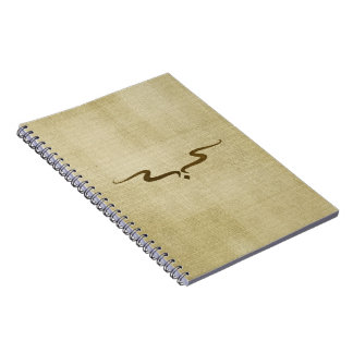 Wavy Line Journal Notebook