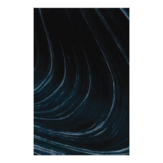 Wavy line of flow stationery