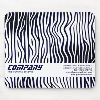 Wavy Lines, Business Mouse Pad