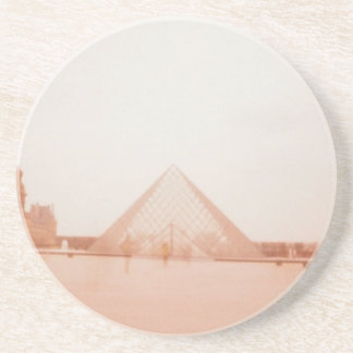 Wavy Louvre Beverage Coasters