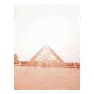 Wavy Louvre Customized Letterhead
