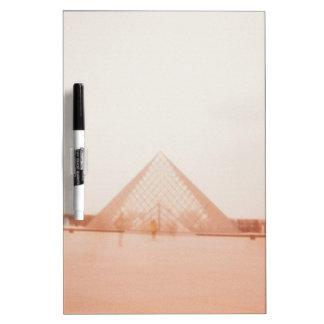 Wavy Louvre Dry Erase White Board