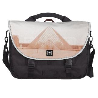 Wavy Louvre Laptop Bag