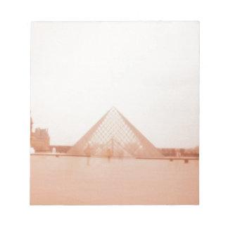 Wavy Louvre Notepad