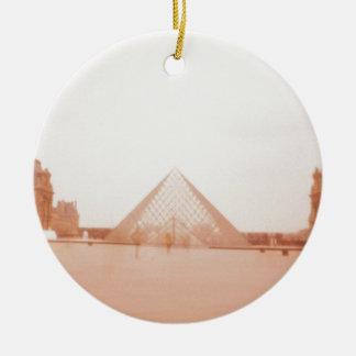 Wavy Louvre Christmas Ornaments