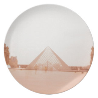 Wavy Louvre Party Plates