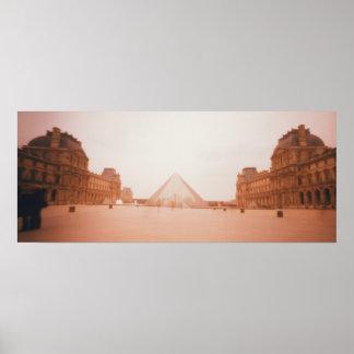 Wavy Louvre Print