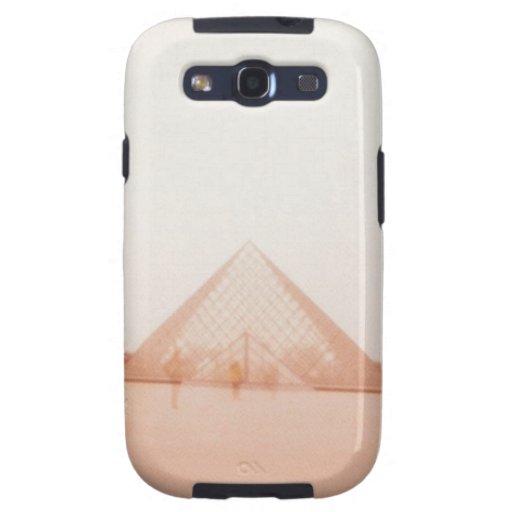 Wavy Louvre Samsung Galaxy SIII Cases