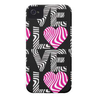 Wavy Love iPhone 4 Case-Mate Cases