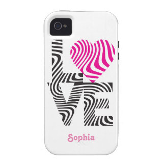 Wavy Love iPhone 4/4S Case