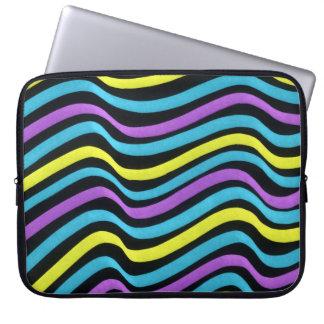Wavy Marker Pattern 2 Laptop Computer Sleeve