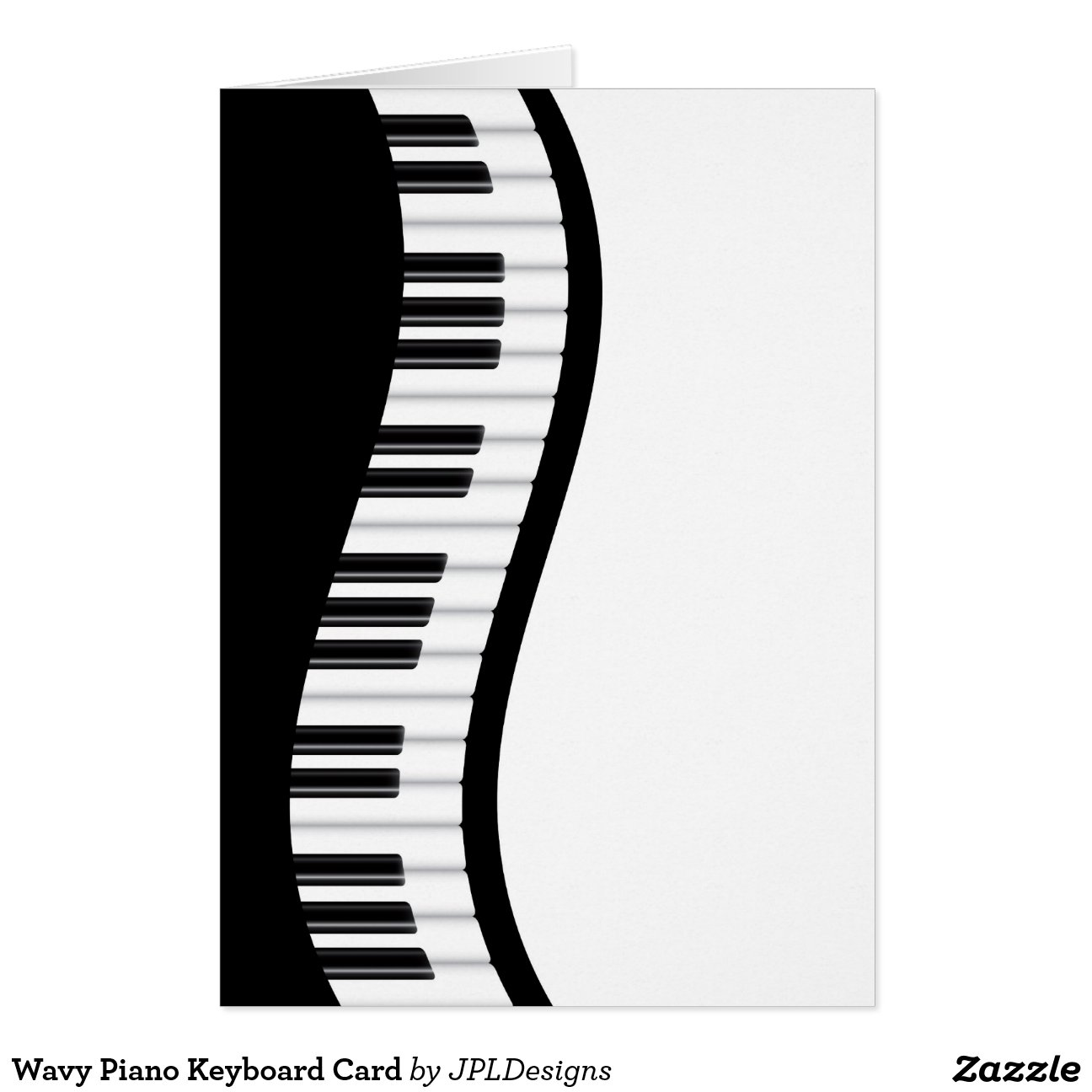 Wavy Piano Keyboard Card Piano Keyboard Images